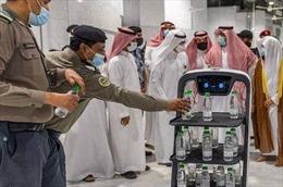 Robot thông minh phân phối 'nước thánh' tại Saudi Arabia