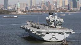 Dịch COVID-19 bùng phát trên tàu sân bay mới nhất của Hải quân Anh