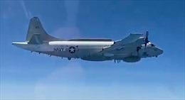 Video Su-30 Nga xuất kích chặn máy bay trinh sát Không quân Mỹ