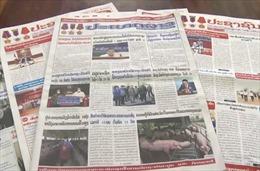 Báo chí Lào ca ngợi mối quan hệ với Việt Nam