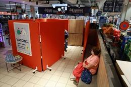 Thủ đô Bỉ mở điểm tiêm vaccine COVID-19 ngay tại siêu thị