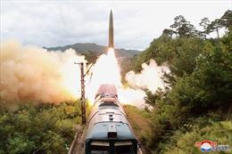 Tên lửa Triều Tiên vừa thử nghiệm được phóng từ tàu hỏa