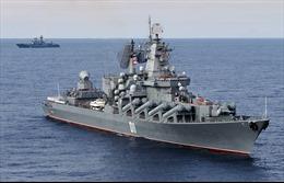 Chiến hạm Nga tập trận tên lửa trên Biển Nhật Bản