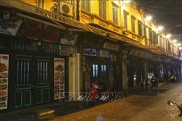 Hàng quán Hà Nội thực hiện đóng cửa trước 21h