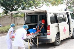 Diễn tập đảm bảo y tế, phòng chống dịch bệnh cho kỳ thi tuyển sinh vào lớp 10 THPT