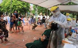 Lấy mẫu xét nghiệm diện rộng toàn bộ thành phố Bắc Ninh