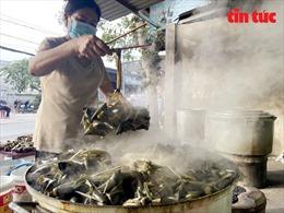 Nhộn nhịp nghề làm bánh ú nước tro Tết Đoan Ngọ