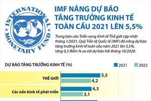 IMF nâng dự báo tăng trưởng kinh tế toàn cầu 2021 lên 5,5%