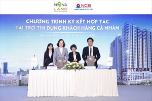 Novaland ký kết hợp tác với ngân hàng TMCP Quốc Dân tài trợ tín dụng khách hàng cá nhân