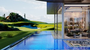 Sức hấp dẫn từ bất động sản Golf villa