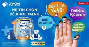 Danone Specialized Nutrition giới thiệu sản phẩm dinh dưỡng trên Shopee