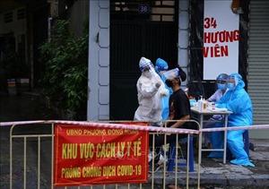 Chiều 24/9, Hà Nội ghi nhận 1 ca nhiễm SARS-CoV-2 trong cộng đồng tại Thanh Oai
