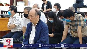 Tranh luận về sai phạm của các bị cáo trong vụ Gang thép Thái Nguyên