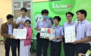 Arkki tổ chức chuỗi Mega Workshop đầy sáng tạo tại trường THPT Trần Đại Nghĩa