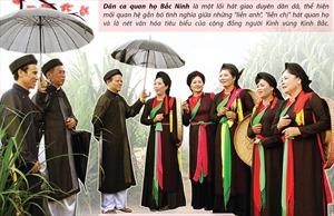 Dân ca quan họ Bắc Ninh làm say đắm lòng người