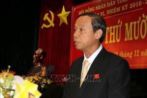 Phó Bí thư Tỉnh ủy, Chủ tịch UBND tỉnh Bà Rịa-Vũng Tàu Nguyễn Văn Thọ