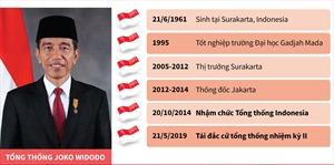 Tổng thống Indonesia Joko Widodo tuyên thệ nhậm chức