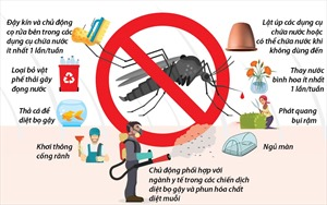 Chủ động phòng, chống sốt xuất huyết