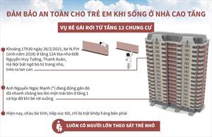 Đảm bảo an toàn cho trẻ em khi sống ở nhà cao tầng