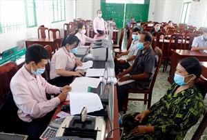 Ngân hàng CSXH tỉnh Sóc Trăng bảo đảm giao dịch an toàn, thông suốt trong mùa dịch