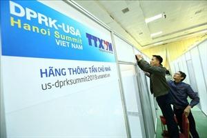 Khẩn trương hoàn thành Trung tâm Báo chí phục vụ Hội nghị thượng đỉnh Mỹ-Triều lần thứ 2