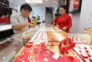 Giá vàng trong nước vượt 59 triệu đồng/lượng