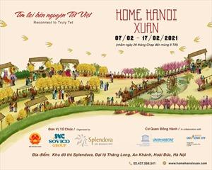 Đường hoa Home Hà Nội Xuân 2021 sắp xuất hiện tại Hà Nội