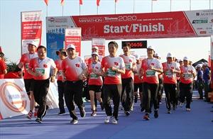 Lan tỏa thương hiệu Agribank tại Giải Vô địch Quốc gia Marathon và cự ly dài báo Tiền Phong năm 2020