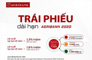 Agribank phát hành 5.000 tỷ đồng Trái phiếu ra công chúng năm 2020