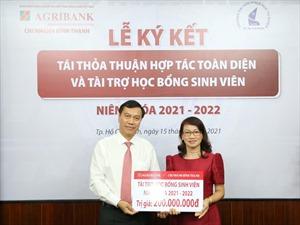 Agribank Chi nhánh Bình Thạnh ký kết thỏa thuận hợp tác với Trường đại học Khoa học Tự nhiên (thuộc Đại học Quốc gia TP. Hồ Chí Minh)