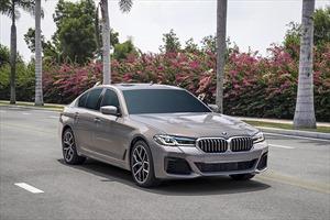 BMW 5 Series mới ra mắt tại Việt Nam