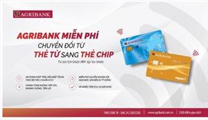 Agribank gia hạn miễn phí đổi thẻ từ sang thẻ chip và liên kết zalo pay