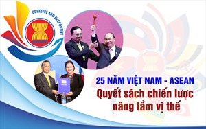 [Megastory] 25 năm Việt Nam - ASEAN: Quyết sách chiến lược nâng tầm vị thế