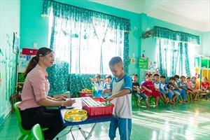 Sữa học đường đem cơ hội uống sữa cho trẻ em miền cao