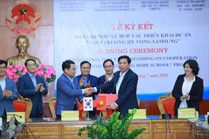 Samsung xây dựng 'Trường học Hy vọng' thứ tư trị giá gần 20 tỷ đồng tại Lạng Sơn