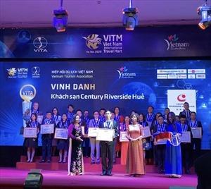 Century Riverside Huế nhận giải thưởng Khách sạn phục vụ MICE hàng đầu năm 2019