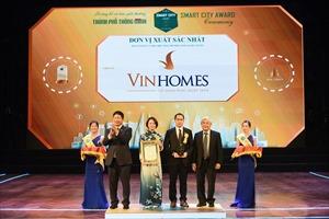 Vinhomes Ocean Park đạt cú đúp giải thưởng tại sự kiện trao giải 'Thành phố thông minh'
