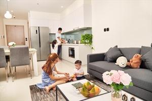 Thuê căn hộ dịch vụ Vinhomes Ocean Park: Trải nghiệm chuẩn sống xanh 5 sao giữa Hà Nội