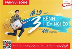 Prudential Việt Nam ra mắt giải pháp bảo hiểm trực tuyến 'PRU-Vui Sống'