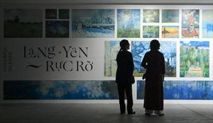 'Ngoài' và 'trong' ở triển lãm của Claude Monet và Pierre Bonnaer tại VCCA