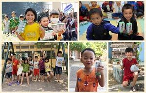 'Cùng góp điểm xanh, cho Việt Nam khỏe mạnh'- hoạt động của Vinamilk mang 1 triệu ly sữa đến cho trẻ em khó khăn