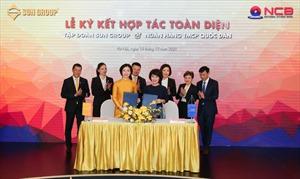 Sun Group và NCB ký kết thỏa thuận hợp tác toàn diện