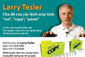 Larry Tesler - Cha đẻ của các lệnh máy tính 'cut', 'copy', 'paste'