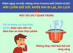 Lưu ý quan trọng để giảm nguy cơ mắc chủng virus Corona mới