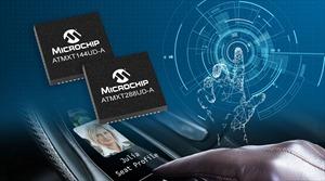 Microchip cung cấp bộ điều khiển ô tô maXTouch® có kích thước nhỏ nhất