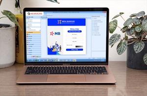Dịch vụ ngân hàng điện tử của MB kết hợp với MISA gia tăng lợi ích cho doanh nghiệp