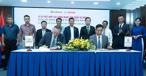Tập đoàn Sơn Hà ký kết với Bosch phát triển công nghệ sản xuất xe máy điện