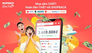 ShopBack - Nền tảng hoàn tiền ra mắt tại Việt Nam