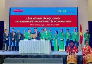 Dai-ichi Life Việt Nam và HHI/Tập đoàn Mai Linh ký kết Hợp tác