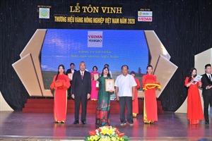 VEDAN Việt Nam lần thứ 5 liên tiếp được tôn vinh 'Thương hiệu vàng nông nghiệp Việt Nam'
